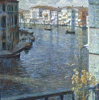 The Canal Grande in Venice Fine Art Print