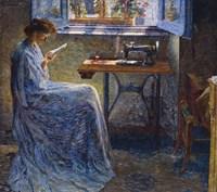 The Seamstress's Novel Fine Art Print