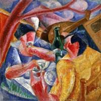 Under the Pergola in Naples 1914 Fine Art Print