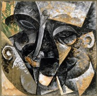 Dynamism of Man's Head 1914 by Umberto Boccioni - various sizes