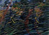 States of Mind - Those that Go (Stati D'animo, Quelli Che Vanno) by Umberto Boccioni - various sizes