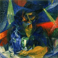 Decomposition of a Female Figure at a Table by Umberto Boccioni - various sizes