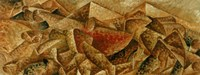 Plastic Dynamism: Horse & Tenement Fine Art Print
