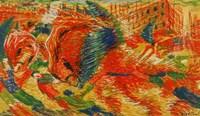 The Rising City (La Citte Che Sale) Fine Art Print