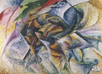Dynamism of a Cyclist by Umberto Boccioni - various sizes
