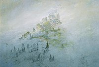 Mountain in the Fog, Staatliche Museen Heidecksburg, Rudolstadt, Germany Fine Art Print