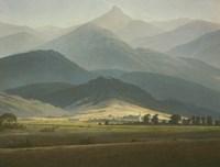 Landscape with Mountains by Caspar David Friedrich - various sizes