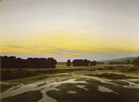 The Great Reserve near Dresden, 1832 Fine Art Print