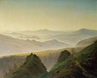 Morning in the Mountains by Caspar David Friedrich - various sizes