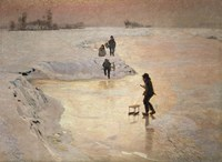 The Skaters, 1891 by Emile Claus, 1891 - various sizes - $23.99