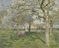 The Orchard in Springtime 1902 by Emile Claus - various sizes