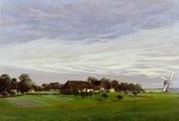 Flat Countryside (Isle of Ruegen or near Greifswald), 1822-1823 Fine Art Print