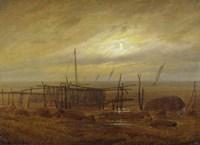 On the Shore by Caspar David Friedrich - various sizes