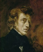 Frederic Chopin-1849 by Eugene Delacroix, 1849 - various sizes