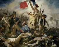 Liberty Leading the People, 1830 Fine Art Print