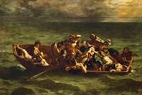 Don Juan's Shipwreck, 1840 by Eugene Delacroix, 1840 - various sizes - $25.49