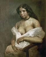 Mulatto Woman by Eugene Delacroix - various sizes