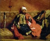 Turk Smoking on a Divan
