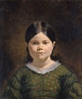 Portrait of Lucile Virginie Le Guillou by Eugene Delacroix - various sizes