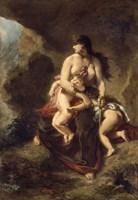 Medea Kills Her Children, 1862 by Eugene Delacroix, 1862 - various sizes