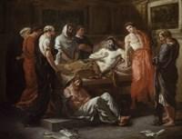 The Last Words of Marcus Aurelius, 1844 by Eugene Delacroix, 1844 - various sizes