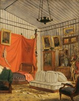 Apartment of the Count of Mornay by Eugene Delacroix - various sizes