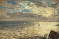 The Sea at Dieppe, 1851 by Eugene Delacroix, 1851 - various sizes