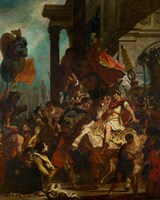 Emperor Trajan's Justice, 1840 by Eugene Delacroix, 1840 - various sizes