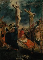 Crucifixion, 1835 by Eugene Delacroix, 1835 - various sizes