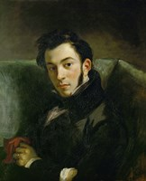 Portrait of Frederic Villot by Eugene Delacroix - various sizes