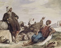 The Muleteers of Tetouan by Eugene Delacroix - various sizes