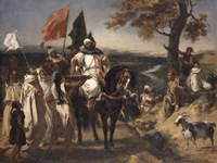 Caid, Moroccan Chief by Eugene Delacroix - various sizes