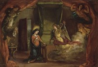 Annunciation by Eugene Delacroix - various sizes