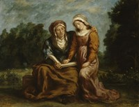 The Education of the Virgin by Eugene Delacroix - various sizes