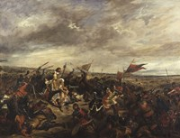 The Battle of Poitiers, 1830 Fine Art Print