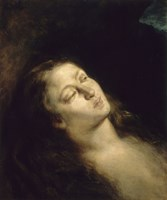 The Magdalen in the Wilderness, 1845 by Eugene Delacroix, 1845 - various sizes - $22.99
