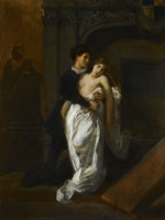 Romeo and Juliet at the Capulet Tomb Fine Art Print