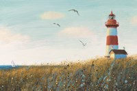 Seaside View I by James Wiens - various sizes, FulcrumGallery.com brand