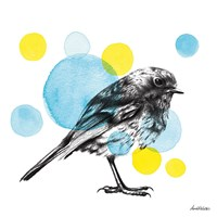 Sketchbook Lodge Bird Fine Art Print