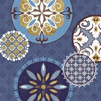 Mediterranean Blue II Fine Art Print
