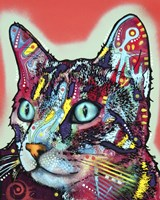 Curious Cat by Dean Russo - various sizes, FulcrumGallery.com brand