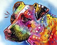Pit Bull 1059 Fine Art Print