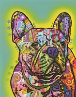 French Bulldog III by Dean Russo- Exclusive - various sizes