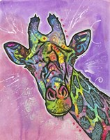 Giraffe by Dean Russo- Exclusive - various sizes, FulcrumGallery.com brand