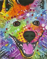 Happy Dog by Dean Russo- Exclusive - various sizes