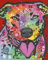 Dog On Red by Dean Russo- Exclusive - various sizes - $25.49