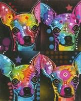 Four Chihuahuas Fine Art Print