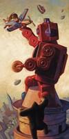 Robo Kong Framed Print