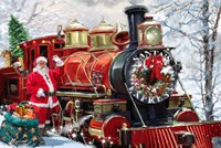 Christmas Express Fine Art Print