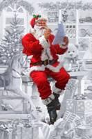 Santas Workshop Fine Art Print